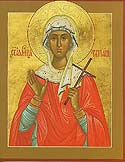 Martyr Tatiana of Rome, and those who suffered with Her