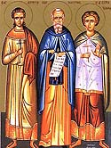 Martyrs Hermylus and Stratonicus of Belgrade