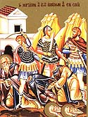 Martyr Moses and his Disciple Moses slain at Sinai and Raithu