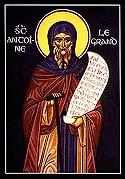 Venerable and God-bearing Father Anthony the Great