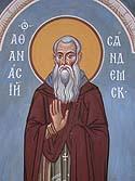 Venerable Athanasius, Abbot of Syandemsk, Vologda