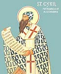 Saint Cyril, Archbishop of Alexandria