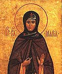 Venerable Schema-Nun Maria, the Mother of St Sergius of Radonezh