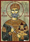Blessed David IV the King of Georgia