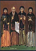 Venerable Xenophon, his wife, Mary, and their two sons, Arcadius and John, of Constantinople