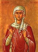 Virginmartyr Chryse of Rome