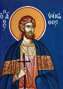 Martyr Hyacinth of Caesarea, in Cappadocia, and those with him