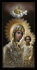 "Icon of the Mother of God ""Our Lady of Sitka"""