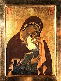 "Icon of the Mother of God ""Tenderness"" in Novgorod"