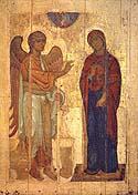 Miracle of the Annunciation Icon of the Mother of God at Ustiug