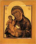 """It Is Truly Meet"" (""Axion Estin"") Icon of the Mother of God"