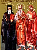 Repose of Venerable Nikodemos the Hagiorite