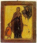 Martyr Cyricus (Quiricus) and his mother, Julitta, of Tarsus