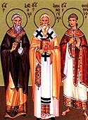 Hieromartyr Athenogenes, Bishop of Heracleopolis, and his ten disciples