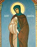 Venerable Macrina, sister of Saint Basil the Great