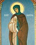 Venerable Macrina, sister of Saint Basil the Great
