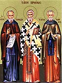 Venerable Simeon of Emessa the Fool-For-Christ, and his fellow ascetic Venerable John