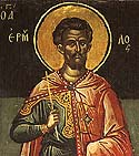 Hieromartyr Hermolaus and Martyrs Hermippus and Hermocrates at Nicomedia