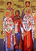 Holy Apostles of the Seventy and Deacons: Prochorus, Nicanor, Timon, and Parmenas