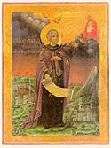 Venerable Paul, founder of the Xeropotamou Monastery on Mount Athos
