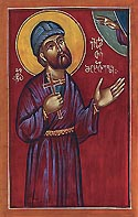 Martyr Eustathius of Mtskheta in Georgia
