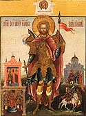 Martyr John the Soldier at Constantinople