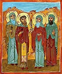 Martyrs Shio, David, Gabriel, and Paul of Akhalkalaki in Georgia