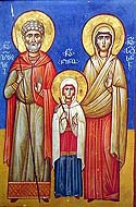 Glorification of the Venerable Zabulon and Sosanna  the parents of St. Nino, Enlightener of Georgia