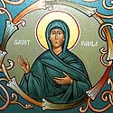 Martyr Paula and those who suffered with her at Byzantium