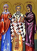 St. Metrophanes the first Patriarch of Constantinople