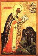 St. Theodore the Bishop of Rostov and Suzdal