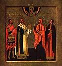 Martyr Martha beheaded in Persia