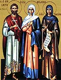Martyr Alexander and Virgin Martyr Antonina at Constantinople