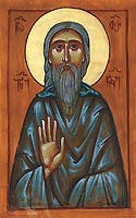 St (John) Tornike of Mt Athos