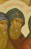 Venerable Onuphrius, Abbot of Malsk, Pskov