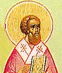 St Triphyllius the Bishop of Leucosia (Nicosia) in Cyprus