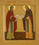 Venerable Cassian and Gregory, Abbots of Avnezh, Vologda