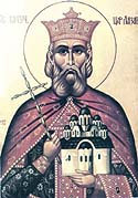 Right-believing Prince Lazarus the Great Martyr of Serbia