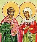 Martyr Crescentia at Lucania