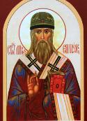 St. Menas, Bishop of Polotsk