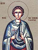 New Martyr Nicetas of Nisyros near Rhodes