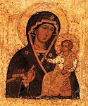 """Seven Lakes"" Icon of the Mother of God"