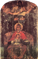 """Reigning"" Icon of the Mother of God"