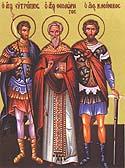 Martyr Basiliscus of Amasea