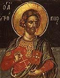 Martyr Eutropius of Amasea