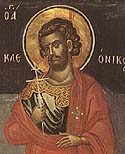 Martyr Cleonicus of Amasea