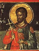 Martyr Hesychius of the Holy 40 Martyrs of Sebaste