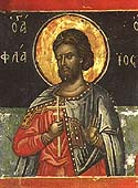 Martyr Flavius of the Holy 40 Martyrs of Sebaste