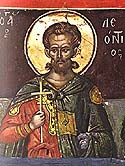 Martyr Leontius of the Holy 40 Martyrs of Sebaste