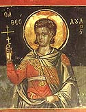 Martyr Theodulus of the Holy 40 Martyrs of Sebaste